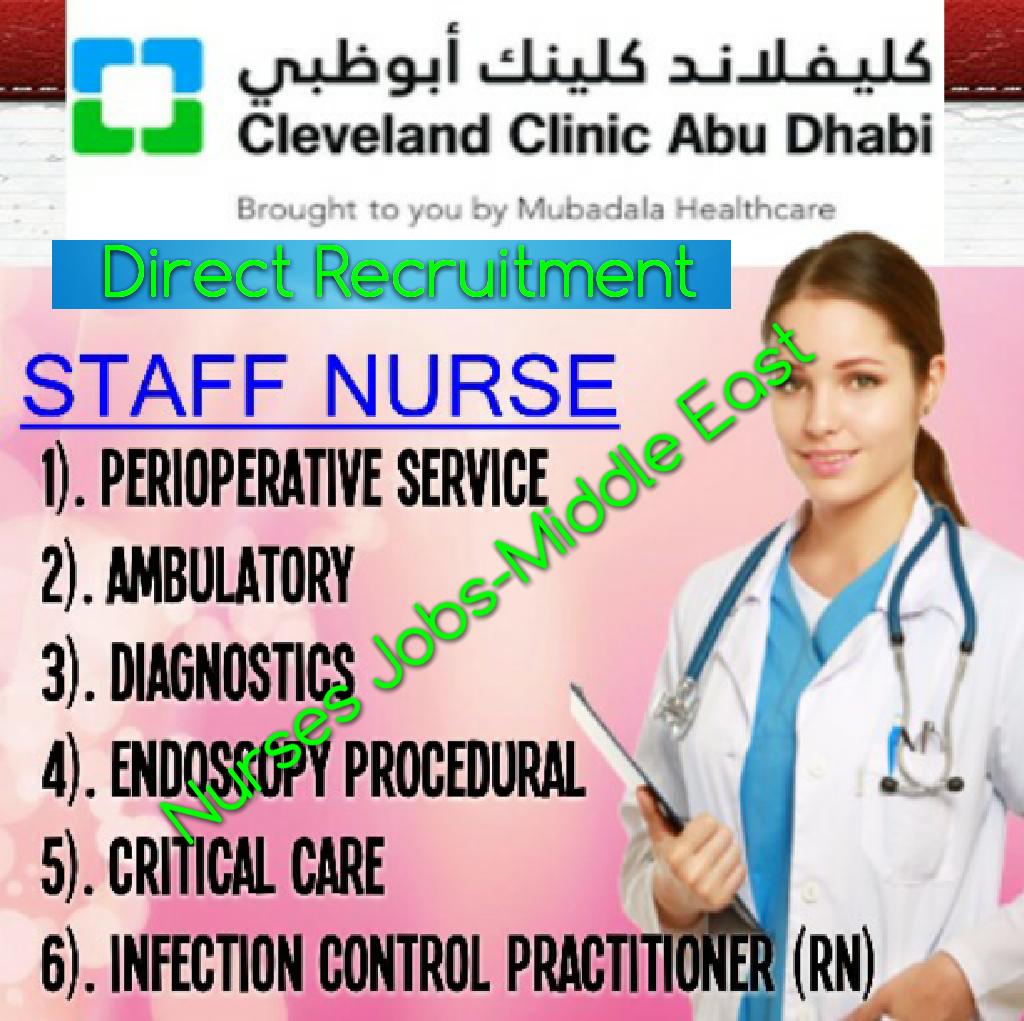 Nurses Jobs Middle East Cleveland Clinic Abu Dhabi Nursing Jobs