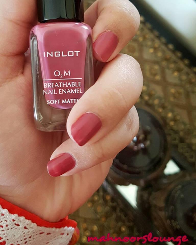 Mahnoor\'s Lounge: Inglot Breathable Nail Enamel 531