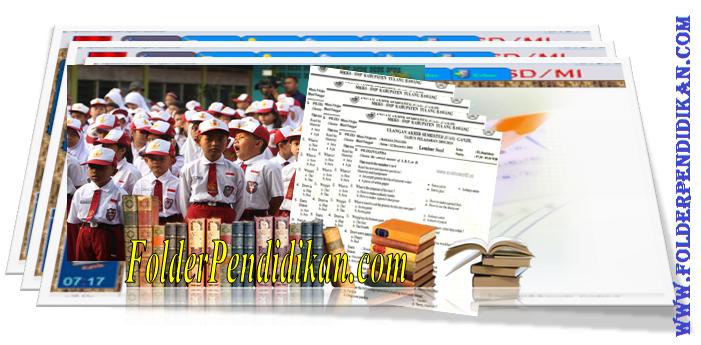 Soal UKK SD Kelas 1 2 3 4 5