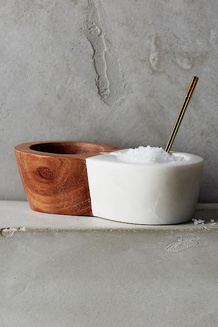 Marbletree Salt Cellar
