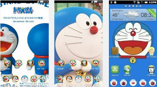 Download aplikasi tema doraemon