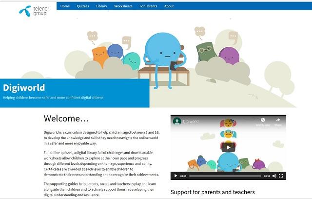 Digiworld - Helping children to be safe online