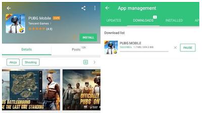 Free Download PUBG Mobile dan Cara Memasang PUBG di Android dan iOS. (Bahasa Inggris) (negara manapun)