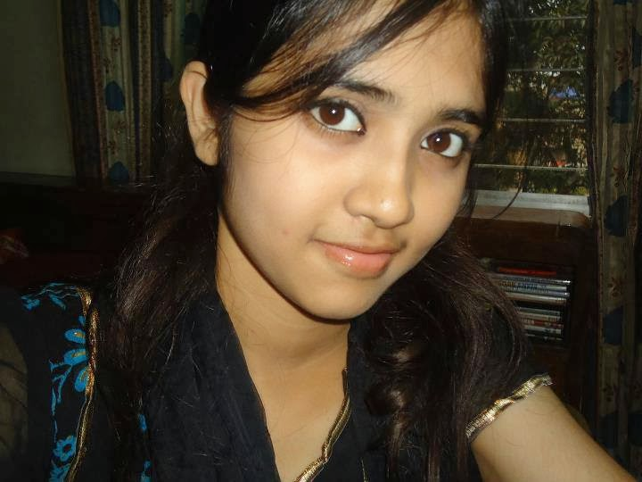 Indian girl face