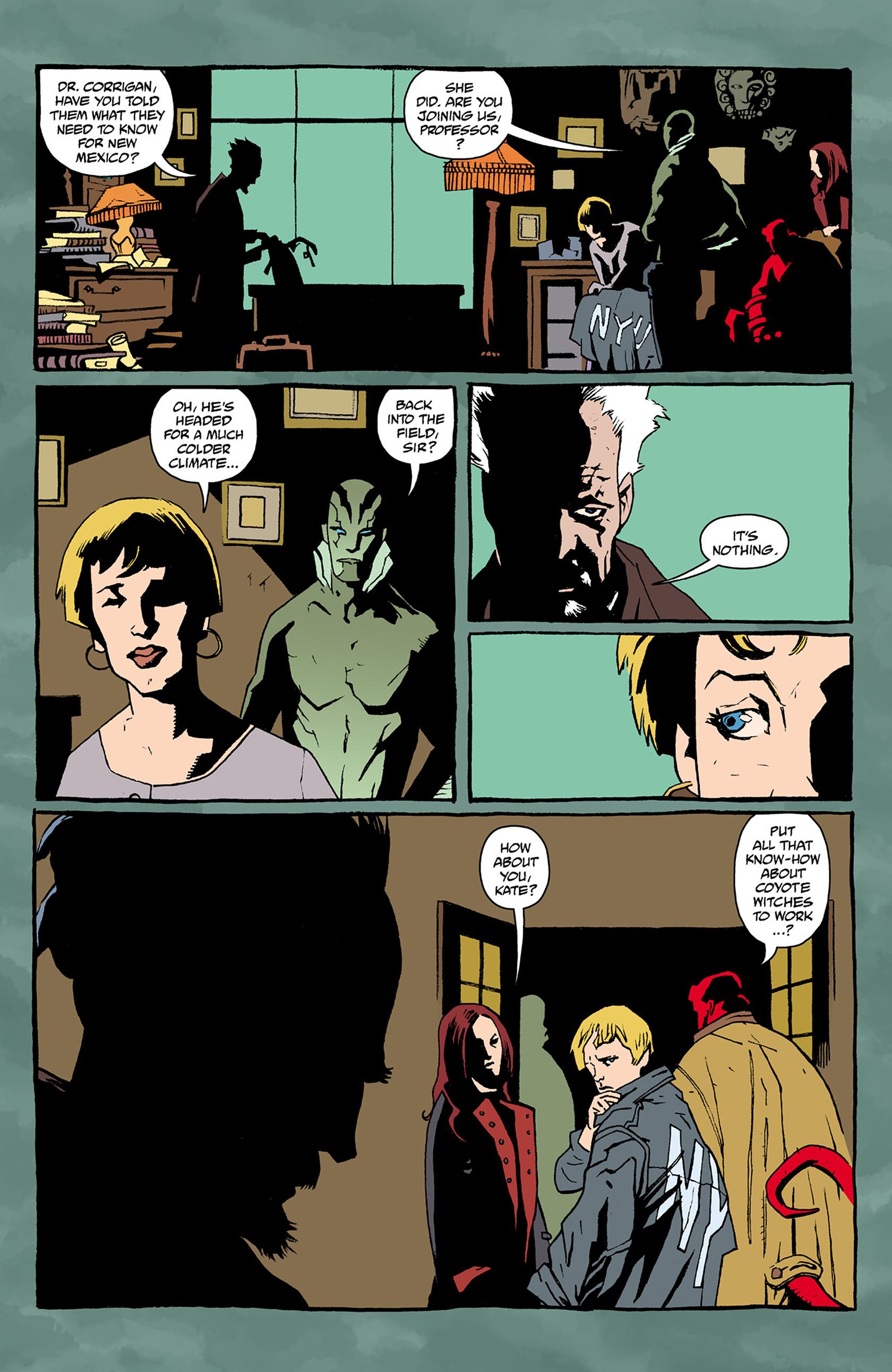 Read online Abe Sapien comic -  Issue #24 - 4
