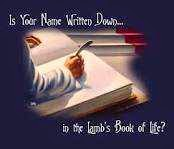 Is Your Name In The Book Of Life