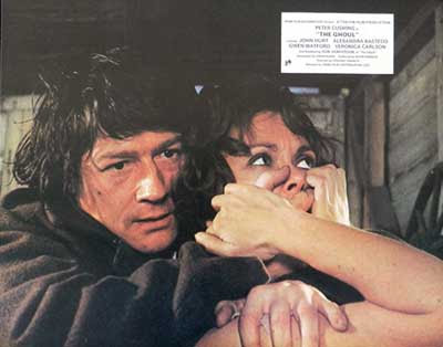 John Hurt en una escena de The Ghoul