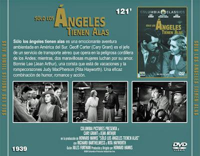 Solo los ángeles tienen alas - [1939]