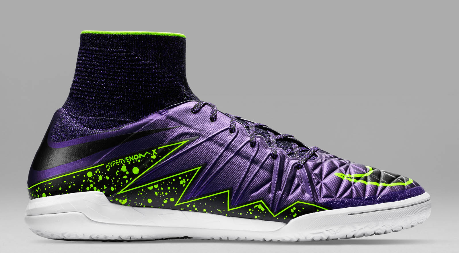 Nike HypervenomX Proximo - Hyper Grape / Volt / Black