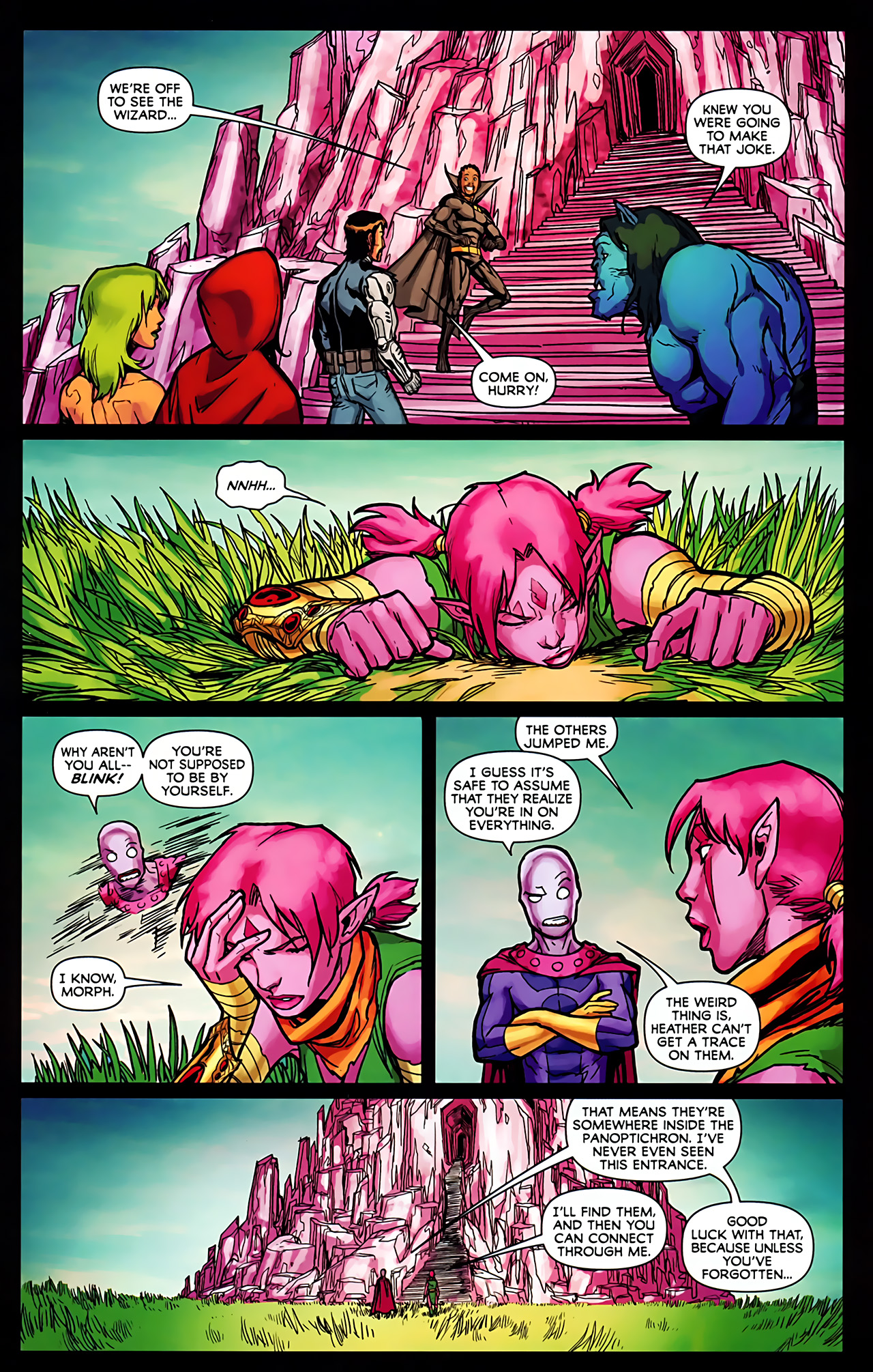 Read online Exiles (2009) comic -  Issue #6 - 21