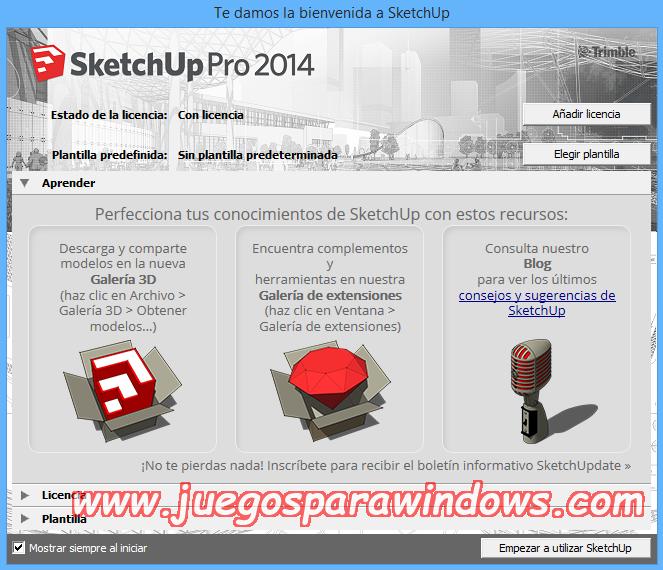 SketchUp Pro 2014 v14.1.1282 Full PC Descargar ESPAÑOL 5