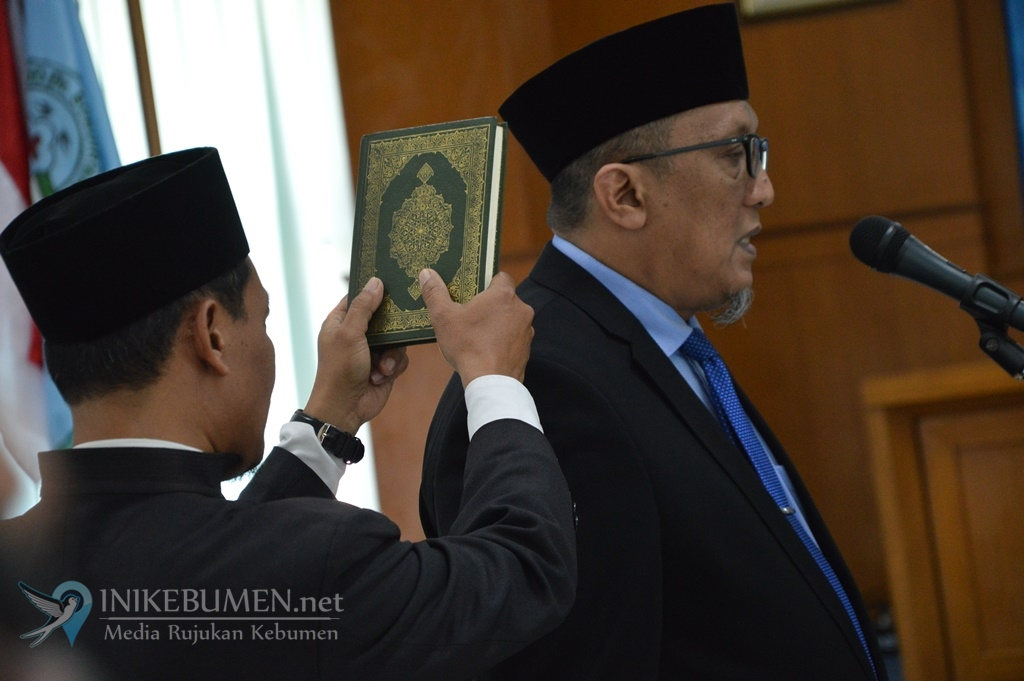 Imbar Sudarsono Dilantik jadi Pejabat Fungsional Dokter Ahli Utama