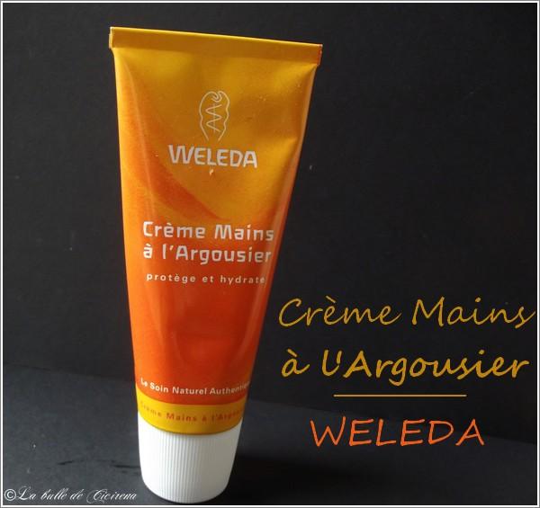 Crème Mains à l'Argousier Weleda, weleda