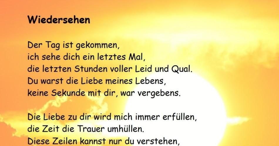Gedicht Wiedersehen Gedichte Von Nicole Sunitsch 2020 04 22