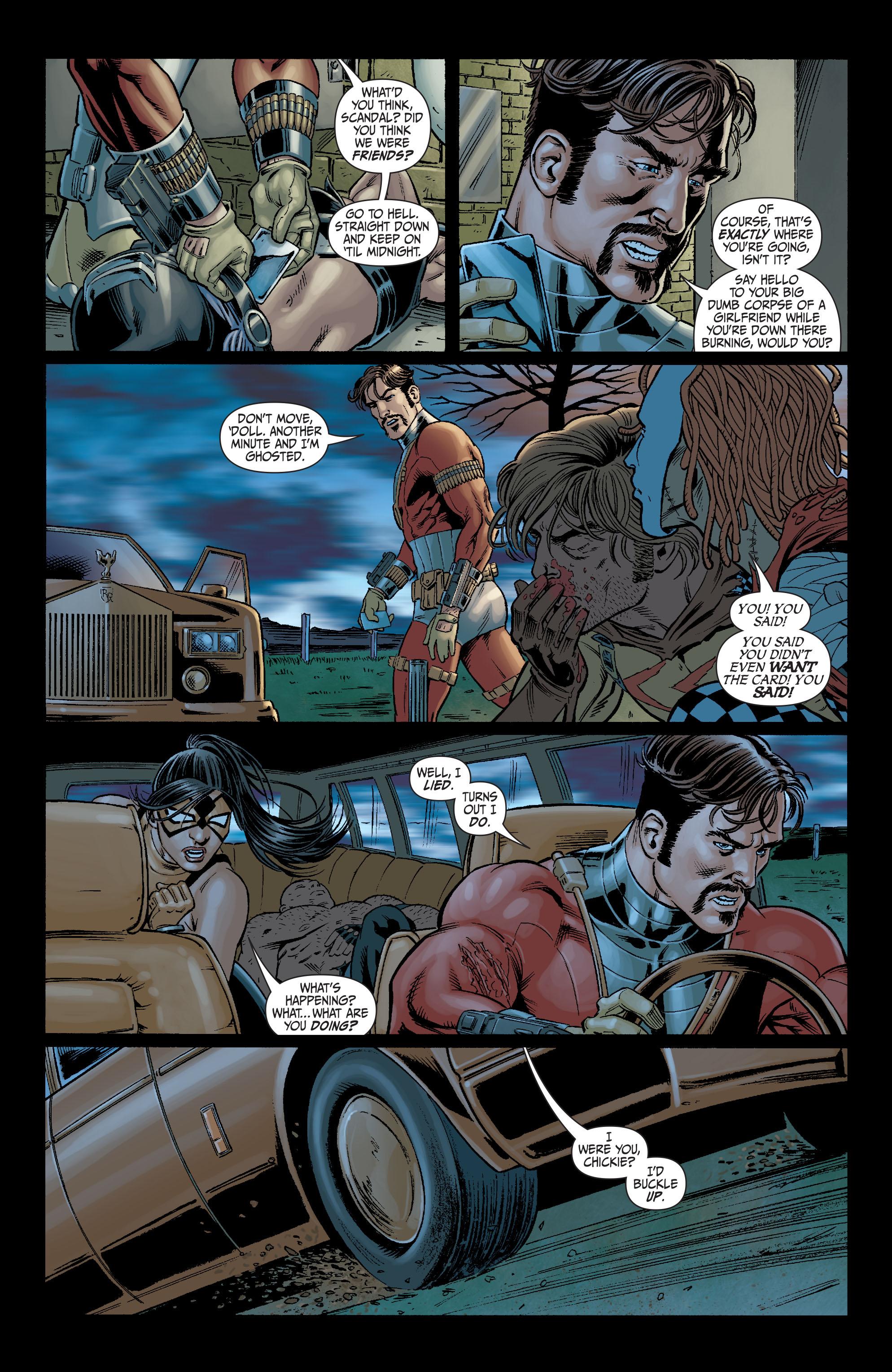 Read online Secret Six (2008) comic -  Issue #6 - 18