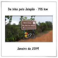 De bike pelo Jalapão