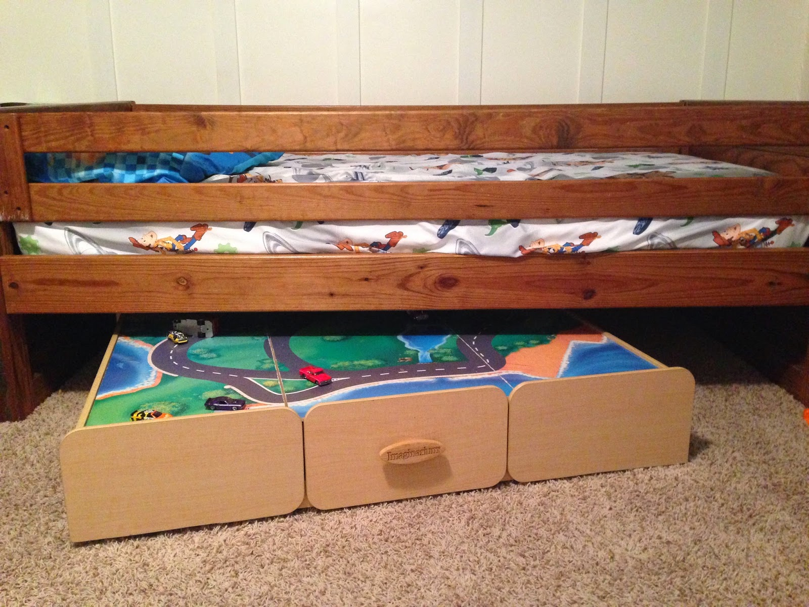 The Copper Coconut: Under The Bed Play Table