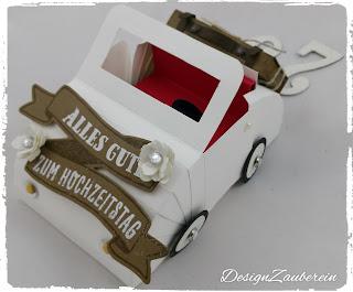 Hochzeitsauto Stampin´Up!
