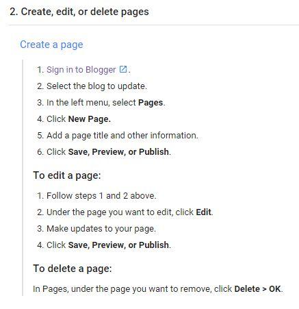 cara membuat halaman statis