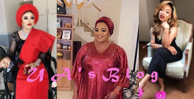 Bobrisky drags Funke Adesiyan for shading Tonto Dikeh