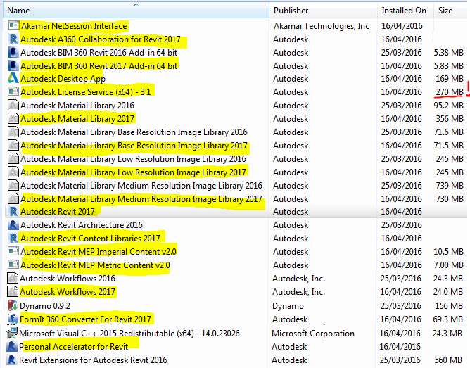 Revitcat installing revit 2017 autodesk desktop app is a replacement for autodesk application manager i do not like having the application manager running as it prompts for upgrades pronofoot35fo Image collections