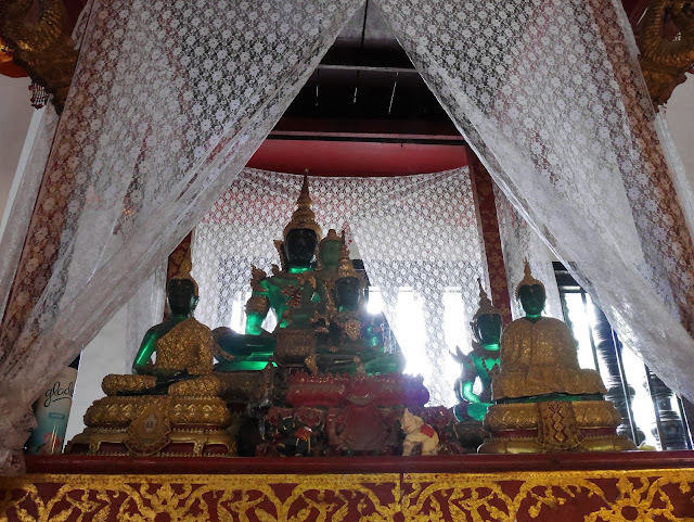 Emerald Buddha statue replicas