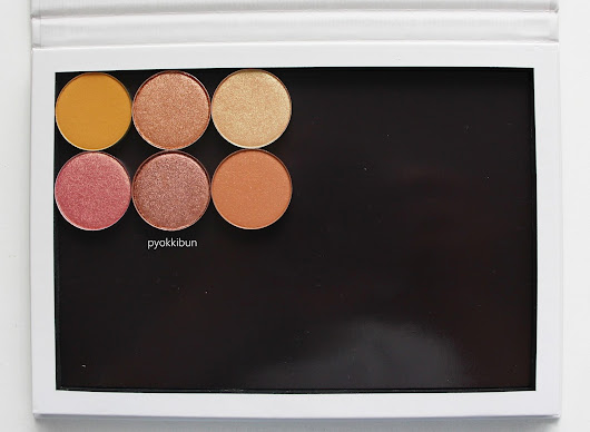 ♥ Pyokkibun ♥: Review: 6 Colourpop Pressed Shadows