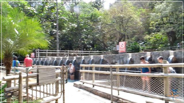 Parque das Fontes, no Rio Quente Resorts