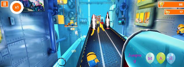 minion rush, gru mi villano favorito, app, android, juego para pc, tecnologia, minions