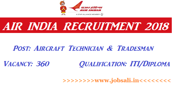 Air India Careers, Air India Jobs, Air India Vacancy