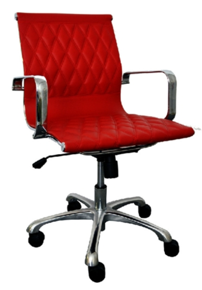 Annie Series Red Modern Chair by Woodstock