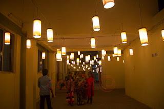 Hanging bulbs lights decor for weddings events coimbatore palakkad