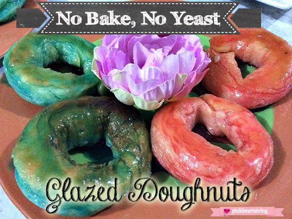 No Bake, No Yeast Glazed Donuts