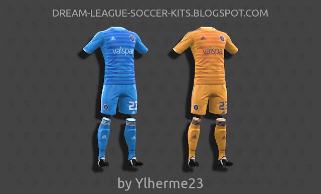 release date 5741c 9f0ce Chicago Fire 2018 - Dream League Soccer Kits