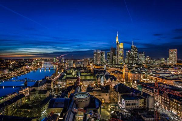 مدينة فرانكفورت الالمانية