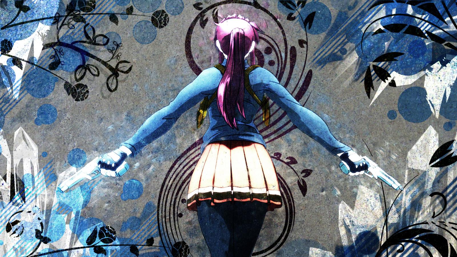 Naruto And Hinata Wallpaper 3d Black Lagoon Hd Wallpaper 1600x900 Your Daily Anime