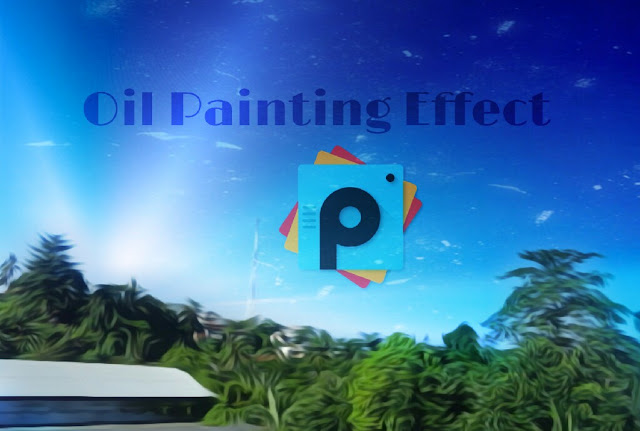 Oil painting picsart