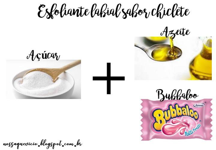 receitas caseiras de esfoliante labial