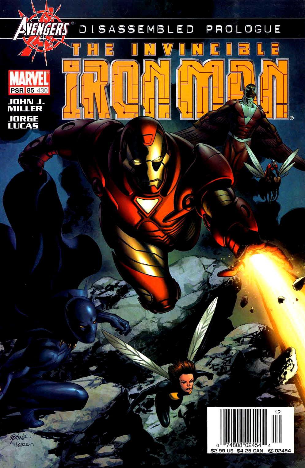 Iron Man (1998) 85 Page 1