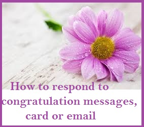 Reply to Wedding Congratulation Messages 3