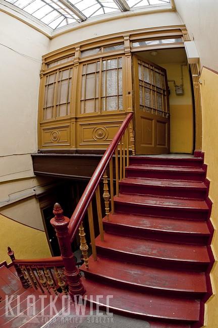 Inowrocław: klimat klatek schodowych z końca XIX