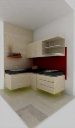 Small compact kitchenset