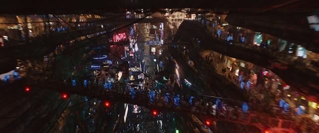 Otra imagen de los mundos futuristas de la película Valerian y la ciudad de los mil planetas ha sido dirigida por Luc Besson