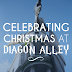 Christmas at Wizarding World of Harry Potter Diagon Alley