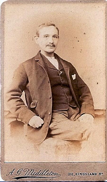Photo of Richard Thomas Edmund Rose born 1836