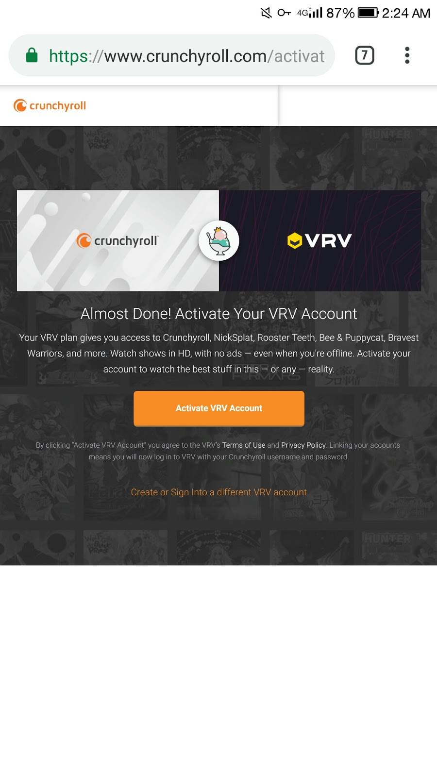 Crunchyroll and Deezer Free premium accounts - DroidVilla Tech
