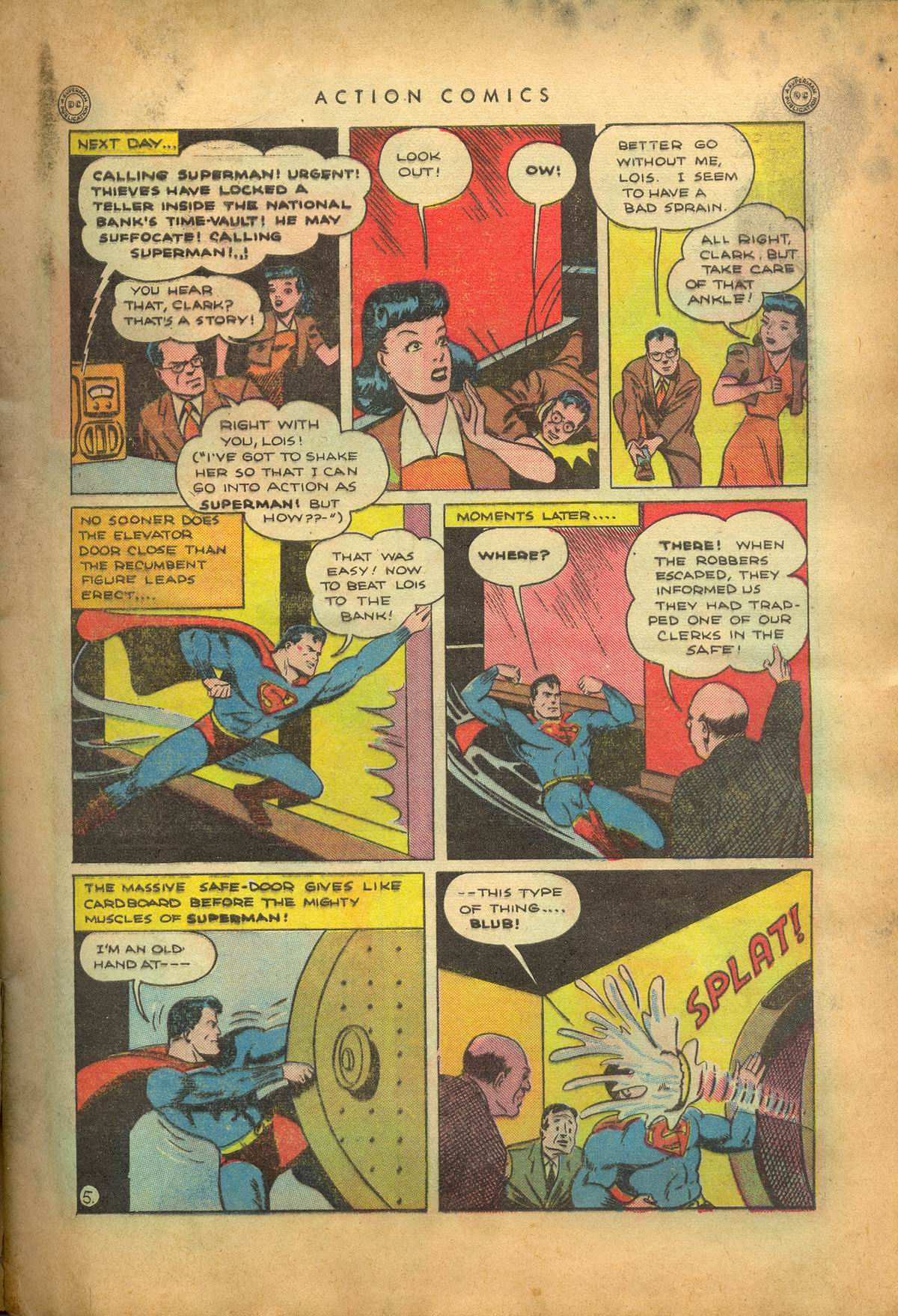 Read online Action Comics (1938) comic -  Issue #95 - 8