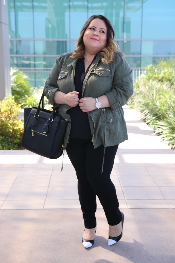 Moda Para Gorditas: Como Usar una Anorak