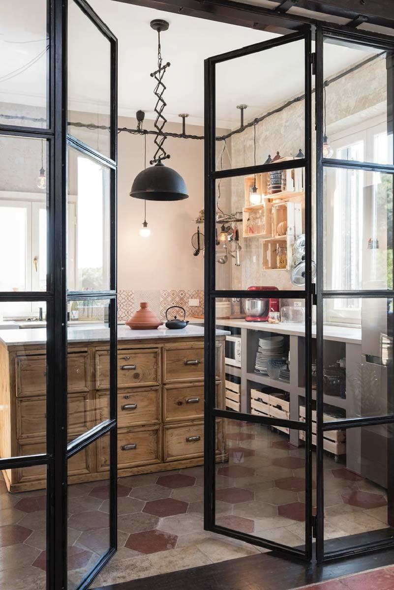 Ristrutturazione di un appartamento di fine 39 900 a roma for Design interni roma