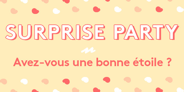 Le Blog de MissEmma • Birchbox • Surprise Party